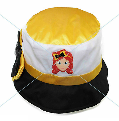 The Wiggles EMMA HAT with Bow - Cap 100% Cotton Summer Beach Bucket - CHEAPEST