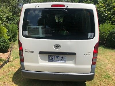 Toyota Hiace 2010 Petrol Automatic Factory LPG & ABS Low 136K 1 Owner with Books