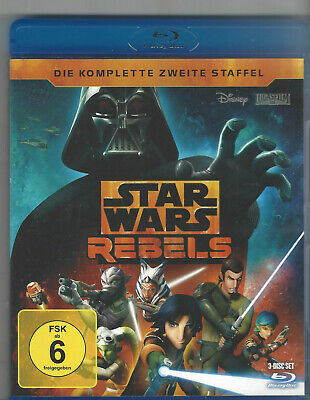 Star Wars Rebels - Die komplette 2. Staffel (Walt Disney) | Blu-ray | neuwertig