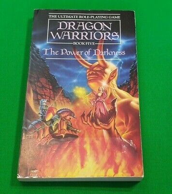 The Power of Darkness ***Nr MINT UNREAD!!*** Dragon Warriors Fighting Fantasy #1