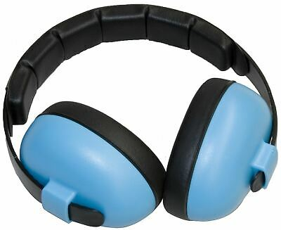 Baby Banz Baby Mini Earmuffs Hearing Protection Blue 3M+ Ear Defenders New