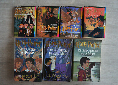 Integrale Des Livres Harry Potter Tomes 1 A 7 Eur 39 95