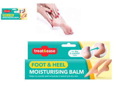 Treat & Ease Dry Foot and Heel Flexi Moisturizing Balm Cracked Dry Skin