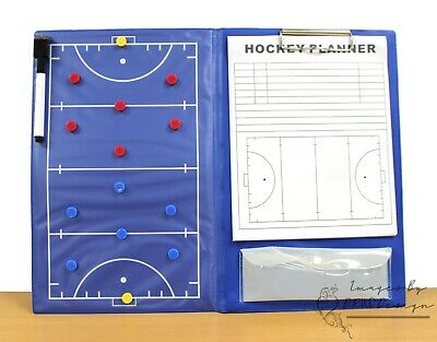 Rucanor Field Hockey Manager Magnetic Training Tactics Clipboard CLEARANCE STOCK