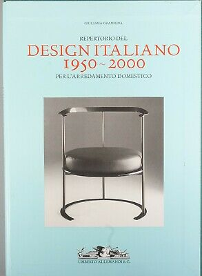 rare Gramigna Repertorio Del Design Italiano 1950-2000 italian furniture