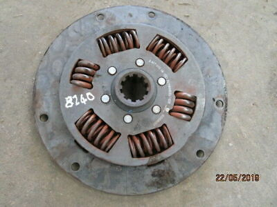 Ford 7840, 8240 Engine Damper Plate (SLE 16x16 Transmission) in Good Condition