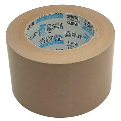 Sekisui 75mm x 50m 504NS Smooth Frame Backing Tape Kraft Paper Framing