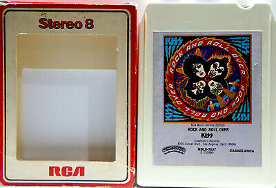KISS Rock And Roll Over  8 TRACK CARTRIDGE