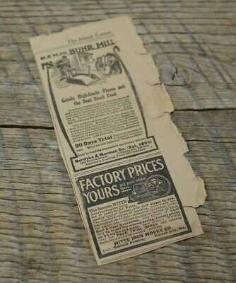 Antique 1913 Magazine Ad Field Force Pump Co Empire King Cider Presses Farming Advertising-print