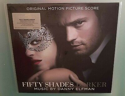 Fifty shades darker Danny Elfman Limited on Shades of Grey Vinyl Soundtrack Lp
