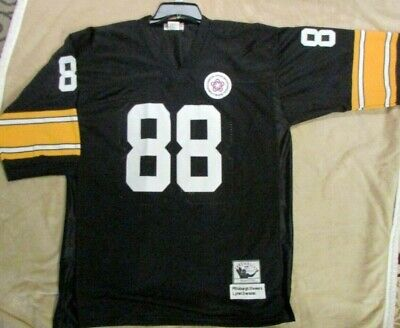 021a5847d02 Pittsburgh Steelers Lynn Swann Jersey #88 Throwback Mitchell & Ness Mens  Size 54