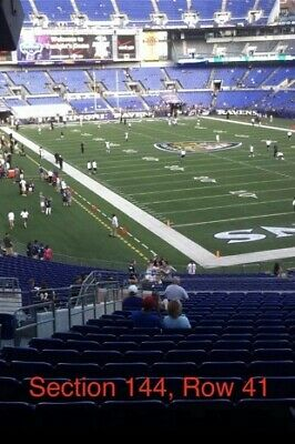 Green Bay Packers vs Baltimore Ravens Two Seats 8/8/19