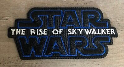 Star Wars The Rise of Skywalker Embroidered Patch Iron Or Sew On Advance Luke
