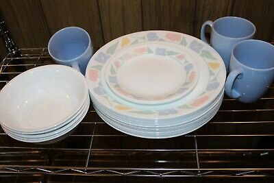 VINTAGE CORELLE CORNING Hometown Dishes Replacement Plates