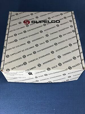 Supelco Silanized amber screw top vial 15 x 45, 94 pack  27217   OPENED BOX