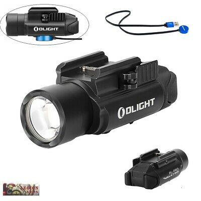 Olight PL-Pro Valkyrie 1500Lm Rechargeable Weapon Light, Magnetic USB Charging