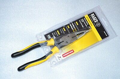 "Klein Tools J206-8C 8"" Journeyman All-Purpose Long-Nose Pliers - J2068C"