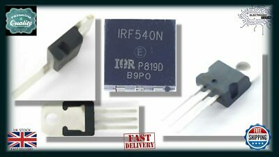10x IRF540N IRF540 TO-220 N Channel 33A Power MOSFET