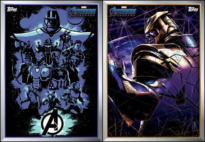 Topps Marvel Collect Avengers Endgame Poster Series #5 AND #6 [DIGITAL CARD SET]