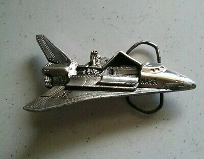 Vintage 1979 Nasa Space Shuttle Mens Belt Buckle by The Great American Buckle Co