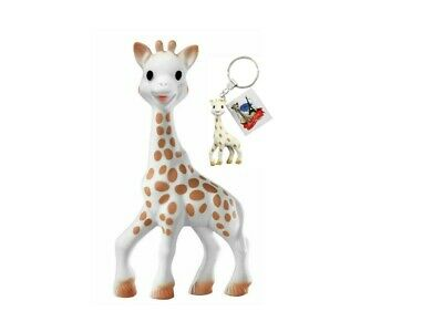 NEW - Sophie la Girafe by Vulli Baby Teether + Sophie Keychain - FREE SHIPPING