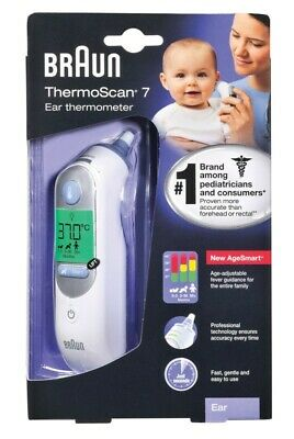 Braun Thermoscan 7 Ear Thermometer 6520