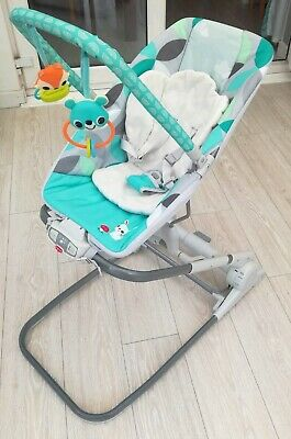 Tiny love 3 in 1 close to me bouncer rocker seat soft musical