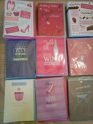 50 A Way With Words Cards, Wholesale Joblot Greeting Cards