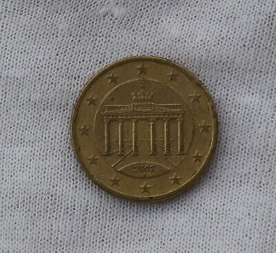 2002 Germany 50 Cents Euro Circulated