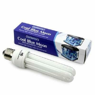 Interpet Cool Blue Moon 15w Replacement Lamp Lighting Aquariums for Nightime