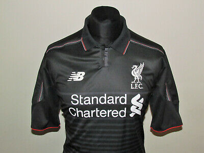3a476dcba0f NEW BALANCE LIVERPOOL 2015 16 Junior Training Top - Red - EUR 21