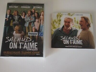 Salaud On T'aime -Fimls Lelouche/  Johnny Hallyday Eddy Mitchell / Dvd +Cd