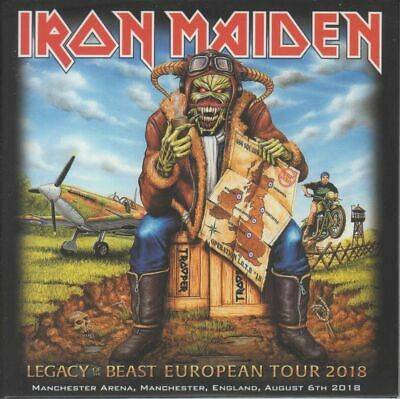 """Iron Maiden """" Live In Manchester 2018  (Rare 2 Cd)"""