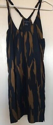 d9ba73b38e1 French Connection Abstract Print Silk Tunic Top Or Mini Dress 2 Xs