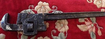 "Vintage Stillson Wrench - Pipe Wrench -  18"" - The Oswego Tool Company NY Monkey"