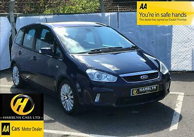 Ford C-MAX 2.0 145 1999cc automatic 2008 Titanium, 1 Owner,  Glass Roof, Cruise