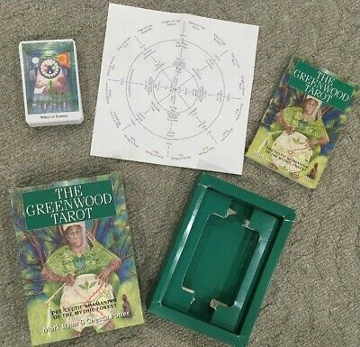 The Greenwood Tarot Deck and Book Set - Rare Collectable