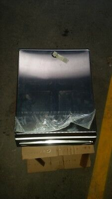 Paper Towel Dispenser - 355h x 275w x 100d Stainless Steel *Factory 2nd*