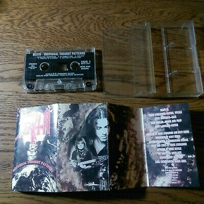 Death Individual Thought Patterns 1993 cassette metal