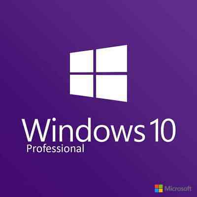 Instant Windows 10 Pro Professional 32 & 64 Bit Activation Code License Oem Key