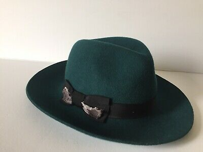 quality design 2d50c 57737 Florence Hat Genie by Eugenia Kim One Size Dark Green Women