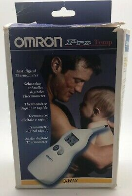 Omron~Fast Digital Thermometer~3 Way~New In Box