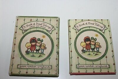 A Book of Good Tidings by Joan Walsh Anglund A Pocketful of Proverbs 1st Edition