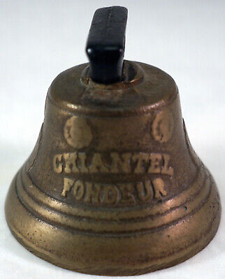 1878 Saignelegier Chiantel Fondeur Brass Bell _ Probably a Reproduction