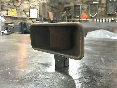 1936 Ford Flathead V8 Oil Fill Breather Tube Scoop Style 1935 1937 Hot Rod