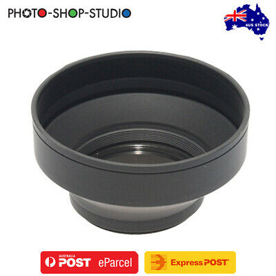 AU STOCK *JJC Lens Hood 58mm (Collapsible Rubber)