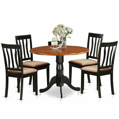 Magnificent Dining Set Table 6 Splat Back Dining Chairs Leaves Country Gmtry Best Dining Table And Chair Ideas Images Gmtryco