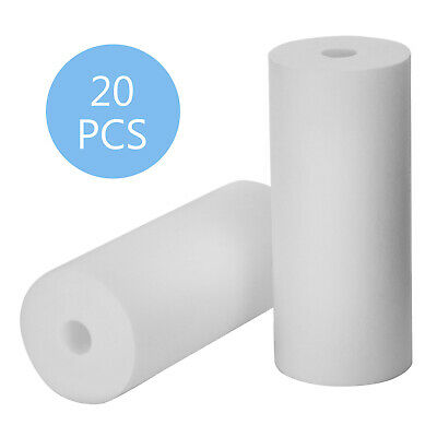 """20 Pack 10"""" x 4.5"""" 5 Micron Water Filter Sediment Cartridges for Big Blue"""