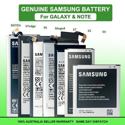Genuine OEM Li-ion Replacement Battery For Samsung Galaxy S5 S6 S7 edge Note 4
