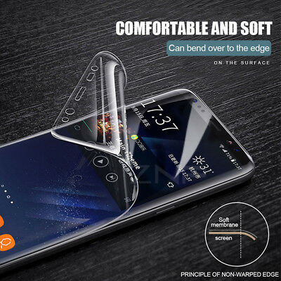 For Samsung Galaxy S7 edge S8 Plus Note 8 Hydrogel Screen Protector Softs Film